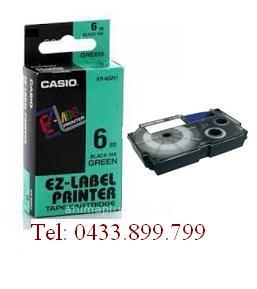Băng mực in nhãn Casio 6mm