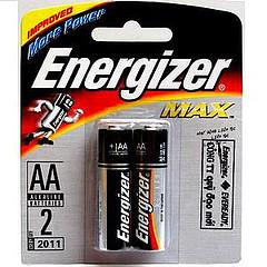 Pin 2A, 3A Energizer