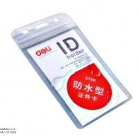 Thẻ đeo dọc chịu nước Deli 5759