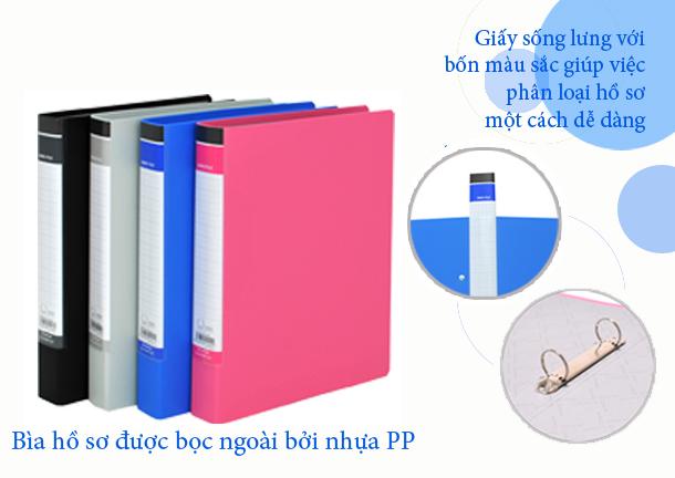File còng nhẫn Thiên Long 3cm